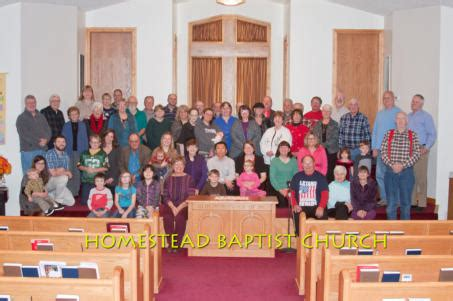 Homestead Baptist Church In Florence Wi Or Aurora Wisconsin