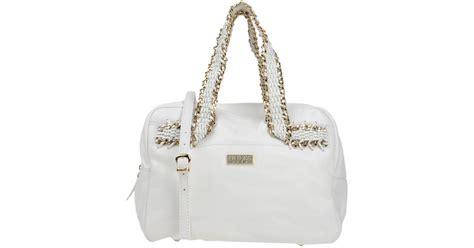 Guess Tanggal White 2 lyst guess handbag in white