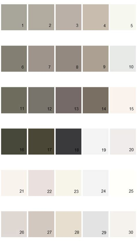 100 eddie bauer paint color swatches wicker on the walls favorite gray paint colors