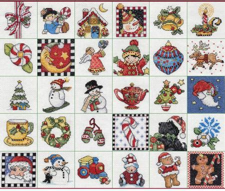 bucilla mary engelbreit ornaments counted cross stitch kit