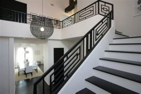 Contemporary Stair Railing 17 Decorative Wrought Iron Railings For Any Style Home