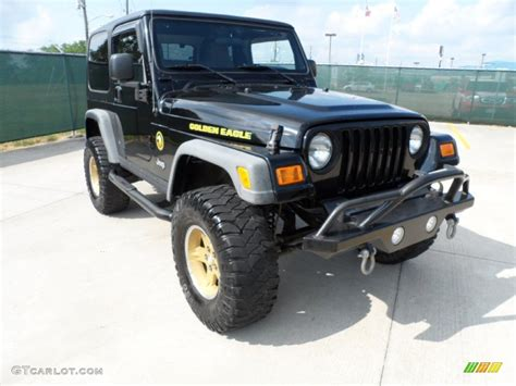 2006 jeep golden eagle black 2006 jeep wrangler sport 4x4 golden eagle exterior