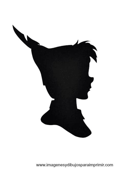 Diy Valentine S Day Peter Pan Wendy Silouette Shirts Youtube Pan Silhouette Template