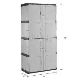 cabinets plastic rubbermaid 7083 plastic storage