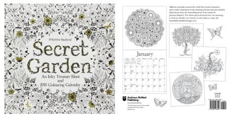 secret garden colouring book target secret garden coloring calendar only 3 74