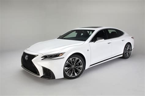 lexus lineup lexus adds an f sport model to the 2018 ls lineup acquire