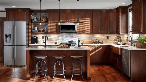 Rustic Kitchen Cabinets Lowes by Rustic Kitchen Photos Hgtv