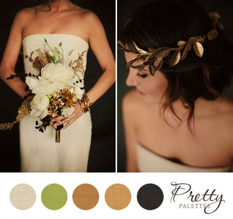 pretty wedding colors black and gold wedding colors pretty palettes 26