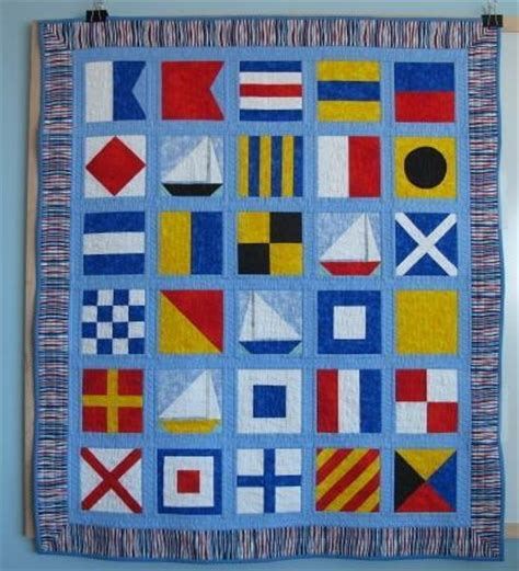 Free Nautical Quilt Patterns by You To See Nautical Abc S On Craftsy