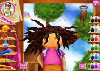 dora real haircuts play best free game on gamefree la dora real haircuts play dora real haircuts online for