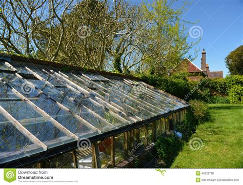 country side green house country house green house stock photo image 40525718