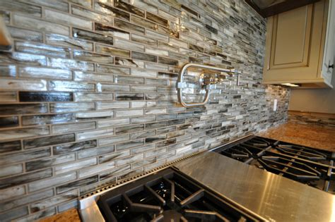 glass tile kitchen backsplash tozen glass tile kitchen backsplash contemporary other by lunada bay tile