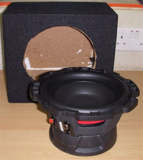 Speaker Fabulous 8 Inch rockford fosgate 8 quot 8 inch 400w car audio punch bass sub subwoofer with box new ebay