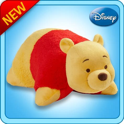 pillow pets authentic disney 18 quot winnie the pooh folding