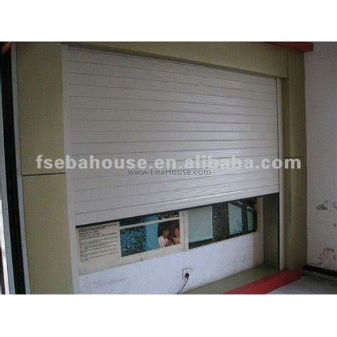 Roll Up Door Vs Overhead Door Motorized Aluminum Roll Up Door Garage Door Screen Rollers
