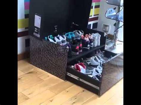 Nike Shoe Rack by Sneaker Storage Box Caja Nike Air Para Guardar
