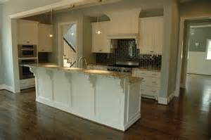 kitchen w raised bar island kitchen islands pinterest