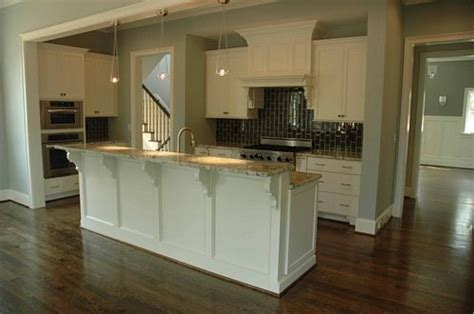 kitchen island with raised bar kitchen w raised bar island decorating
