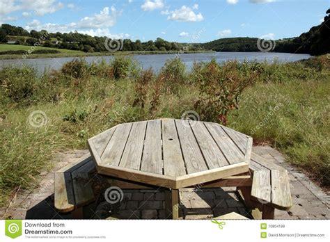 bench scene picnic bench scene royalty free stock images image 10804199
