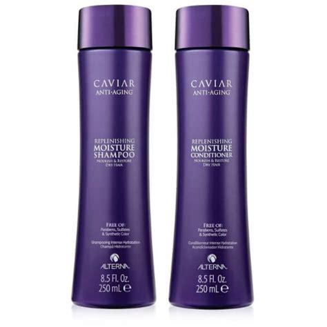 Caviar Sho And Conditioner alterna caviar replenishing moisture shoo and