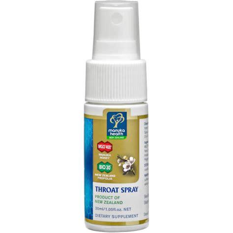 manuka health propolis and mgo 400 manuka honey throat spray 30ml buy mankind