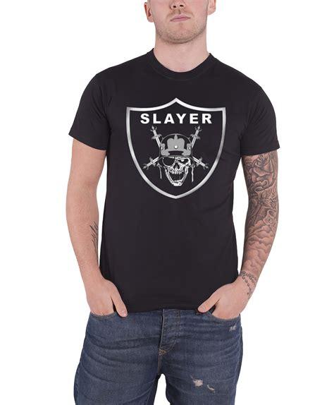 Slayer Tshirt Mens slayer t shirt official band logo in blood thrash