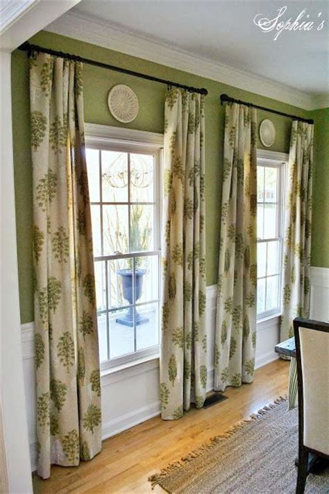 Window Treatments For Living Room And Dining Room by Best 25 Dining Room Curtains Ideas On Living