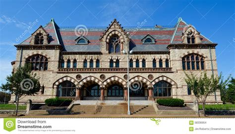 Evansville Post Office by Post Office Editorial Image Cartoondealer 58336954