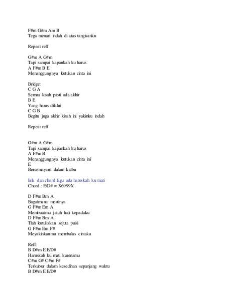 tutorial gitar lagu dekat di hati lirik dan chord lagu ada band