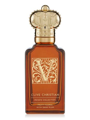Parfum Floral Fruity v for fruity floral with plum clive christian