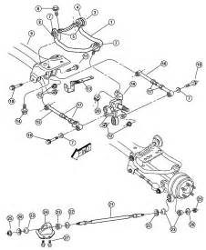 2001 Chrysler Sebring Parts 2001 Chrysler Sebring Front Suspension Diagram Auto