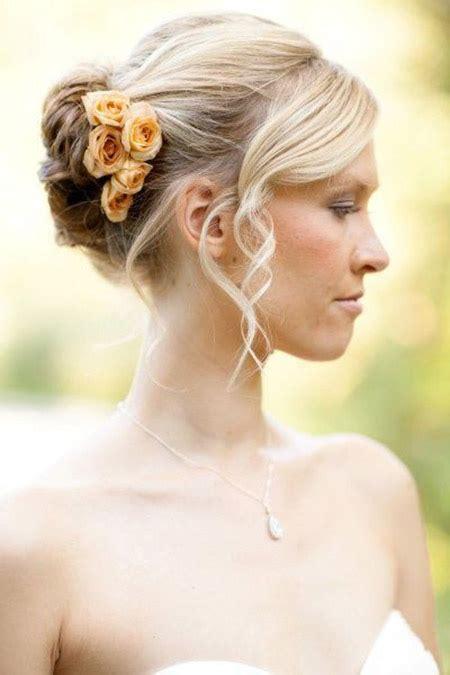 best wedding medium hairstyle with side bun for black 30 wedding hairstyles for medium hair