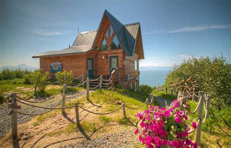 dovetail log cabin kachemak bay cabins alaska adventure cabins