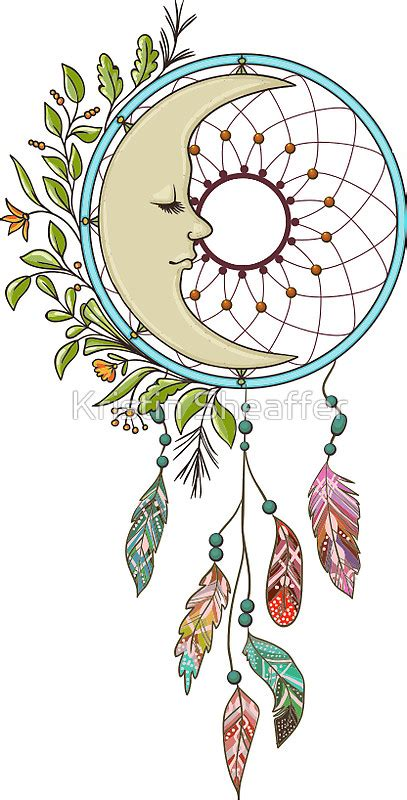 coloring pages moon dreamcatcher dreamcatcher clipart moon pencil and in color