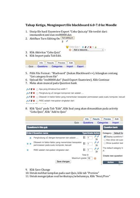 cara membuat quiz matematika di edmodo cara membuat quiz di moodle