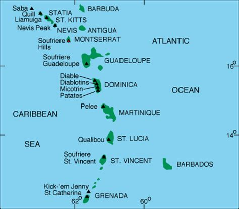 world map with country name west indies there s a volcano called kick em and it s angry