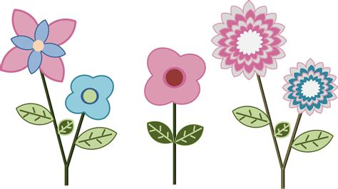 imagenes de flores infantiles a color minitutorial powerpoint combinar formas intersectar