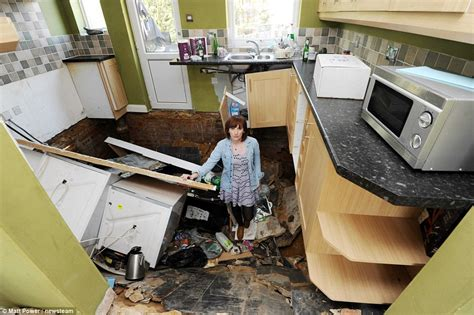 Young couple devastated after moving into their dream home