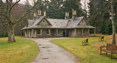 Large Cottage House Plans Craigowan Lodge At Balmoral The Enchanted Manor
