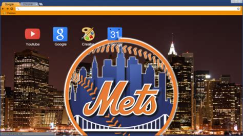 chrome themes new york prove your fandom with new york mets browser themes and