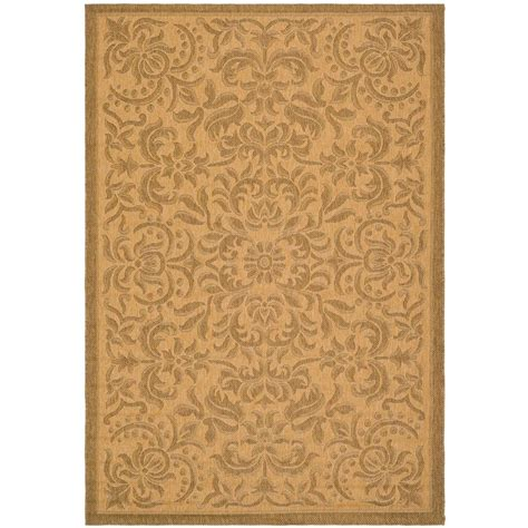 safavieh cy6126 39 courtyard indoor outdoor area rug gold lowe s canada safavieh courtyard gold 8 ft x 11 ft indoor outdoor area rug cy6634 39 8 the home depot