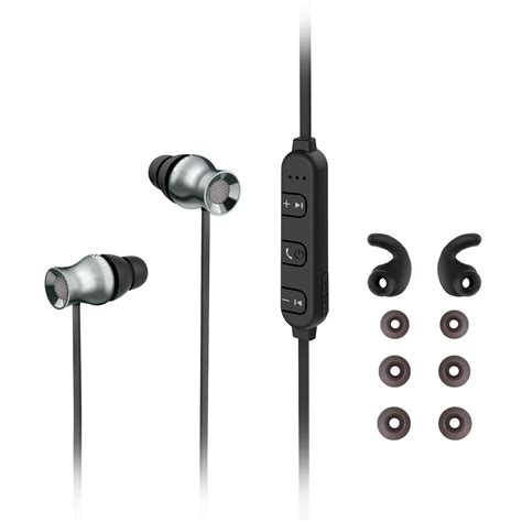 Aukey Ep C2 Earphone With Microphone aukey ep b37 bluetooth wireless earbuds with built in remote microphone cablegeek australia