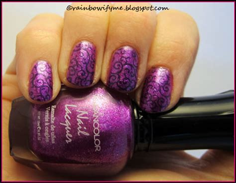 what color lean is the strongest rainbowify me nail kleancolor sparkling grapes