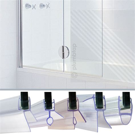 Glass Shower Door Thickness Bath Shower Screen Door Seal Strips For Glass Thickness 6mm 7mm 8mm Ebay
