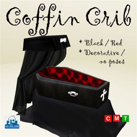 second marketplace coffin crib black no
