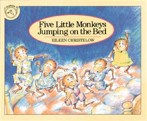 five monkeys jumping on the bed five little monkeys jumping on the bed board book