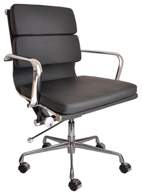 Designer Office Chairs by Davidson Soho Soft Pad Management Chair Modern