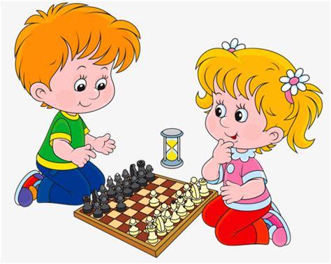 imagenes niños jugando ajedrez ni 241 os jugando al ajedrez dos ni 241 os chico chica png