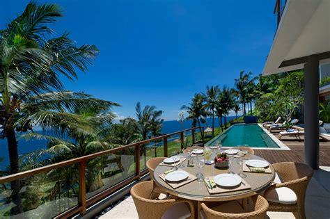 malimbu cliff villa  lombok island indonesia
