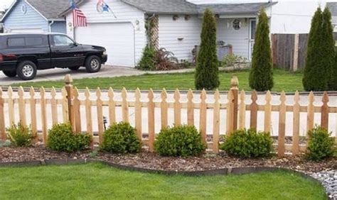 Design For Front Yard Fencing Ideas Cedar Privacy Front Yard Fencing Designs Wood Fence Ideas Fence Ideas Home Design